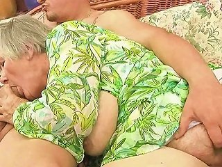 Very Old Fat GILF Enjoys Hard Sex With Her Lover